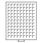 Tabuleiro p/Moedas - Mb 99 - Tabuleiro 99 quadrados