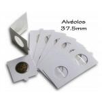 Alvéolos Autocolantes 37.50mm Hartberger
