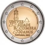 Portugal 2€ 730 Anos Universidade de Coimbra 2020