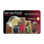 Bélgica 2€ 2020 Jan Van Eyck