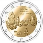 2€ Malta 2020 - Templo Skorba