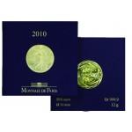 França 500€ LA SEMEUSE 2010 ouro