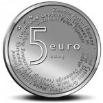 Holanda 5€ Alargamento da U.E.  2004