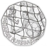 Áustria 5€ 2004 - 100 Anos do Futebol