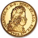 Portugal 5€ 2012 - A Peça de D. João V em Ouro