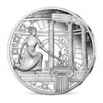 França 10€ Jogos Olímpicos Prata Proof Unesco 2020