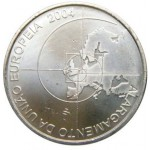 Portugal 8€  Alargamento da U.E. 2004