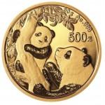 China 500 Yuan Panda 2021 (30 gr. Ouro fino)