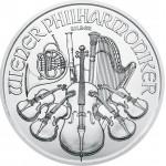 Áustria 1,5€ Philarmonica 2020 - 1oz