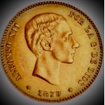 Espanha 25 Pesetas 1879 *79