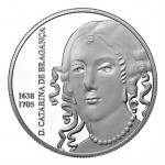 Portugal 5€ Catarina de Bragança Prata Proof 2016