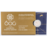 Portugal 2€ 600 Anos do Descobrimento da Madeira e Porto Santo 2019 Proof