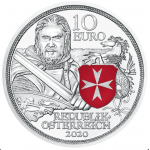 Áustria 10€ Fortaleza Proof 2020