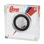 UK David Bowie 2020 1/2 Onça (1 Pound) Prata Proof