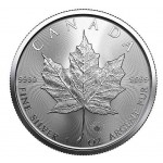 Canadá 5 Dollars Maple Leaf 2021