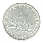 França 1 Franco de 1915
