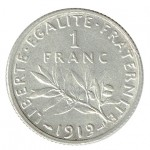 França 1 Franco de 1919