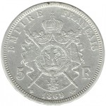 França 5 Francos de 1869