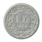 Suiça 1 Franco de 1914