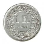 Suiça 1 Franco de 1944