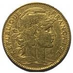 França 10 Francos em Ouro - Galo