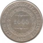Brasil 1000 Reis 1852