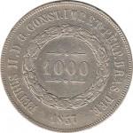 Brasil 1000 Reis 1857