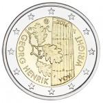 Finlândia 2€ 100 Anos do nascimento de  Georg Henrik Von Wright 2016
