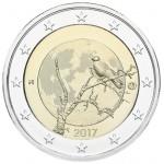 Finlândia 2€ Natureza Finlandesa 2017