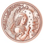 Áustria 10€ Arcanjo São Gabriel 2017