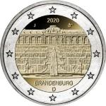 Alemanha 2€ Brandenburg 2020
