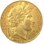 França 20 Francos Cérès ouro