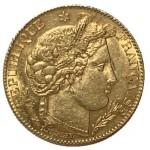 França 10 Francos 1899 A Cérès