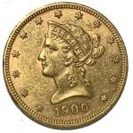 USA 10 Dólares 1900