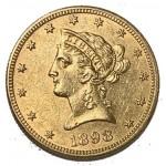 USA 10 Dólares 1898