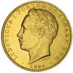 D. Luís 10.000 Réis (Coroa) de 1884