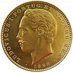 D. Luís 10.000 Réis (Coroa) de 1888