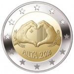 Malta 2€ Amor 2016