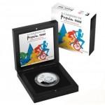 Portugal 2,5€ Jogos Olimpicos de Pequim  Proof 2008