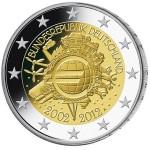Alemanha 2€ 10 Anos do Euro 2012