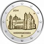 Alemanha 2€ Niedersachsen 2014