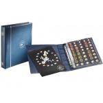 Álbum Optima Euro pré-impresso Azul