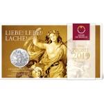Áustria 5€ Ano Novo - Alegria de Viver 2019 Prata
