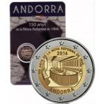 Andorra 2€ Aniversário da Nova Reforma 2016