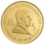 França 10€ Aristides Sousa Mendes 2007