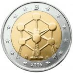Bélgica 2€ Atomo 2006
