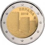 Espanha 2€ Cidade de Avila 2019