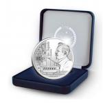 Belgica 5€ Charles Van Depoele Prata Proof