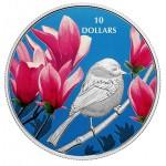 Canadá $10 Chickadee 2017