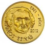 Portugal 1/4€ 2012 Carlos Seixas